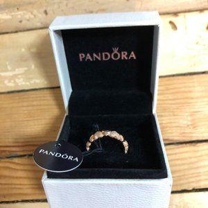 PANDORA - Rose Gold Heart Ring
